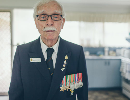 Memoirs of a War Veteran – Personal Photography Project