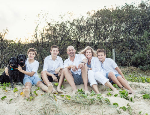 Extended Families – Family Portrait Photography – Mudjimba Beach, Sunshine Coast